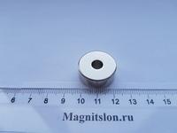 Неодимовое магнитное кольцо 24-7х10 мм