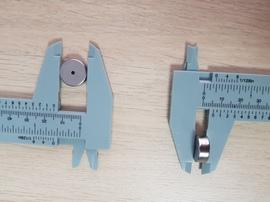 Неодимовое кольцо 15-1.9 х 6 mm. покрытие Хром